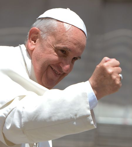 Francisco envió un saludo a Colombia a dos días de su visita apostólica