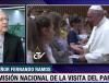Entradas a misas masivas del Papa son intransferibles