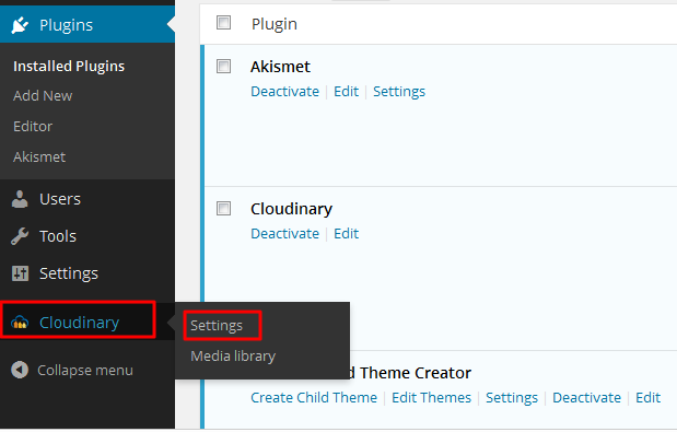 settings-cloudinary