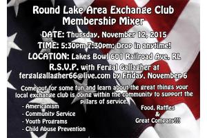Membership Mixer Invitation