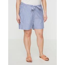 JUNAROSE Gestreifte Shorts