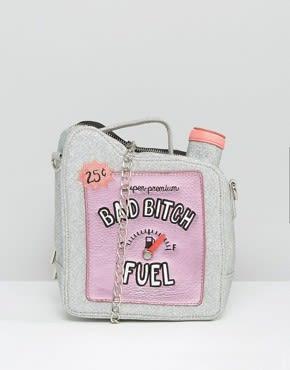Skinnydip - 'Bad Bitch' Fuel Novelty - Schultertasche - Mehrfarbig