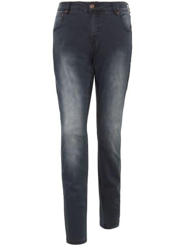 Extra-Slim-Jeans zizzi schwarz
