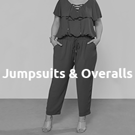 Jumpsuits und Overalls in großen Größen