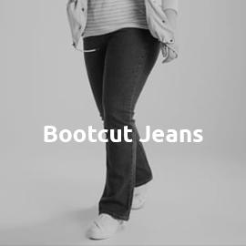 Bootcut Jeans in großen Größen