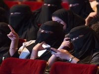 The Saudi government lifted the ban on the movie