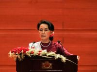 Suu Kyi Will Visit China Due to Western Criticism on Rohingya Exodus