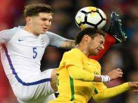 England-Brazil Goalless Draw