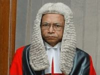 Chief Justice's letter to the President about going abroad