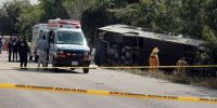 12 killed in tourist bus in Mexico