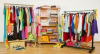 Colorful clothes care