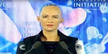What is the right to a woman's robot more than a Saudi woman?