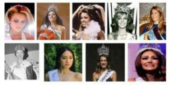 The people who have lost the crown in the beautiful competition