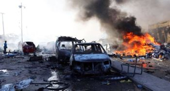 Somalia's capital, Mogadishu, killed 85 people in two bomb attacks