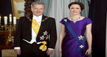 The new guest is coming to Finland's President's family