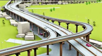 39.24 kilometer long elevated expressway will be connected. Padma Bridge will be opened in December 2018.