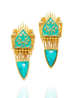 Eastern Elixer Earrings