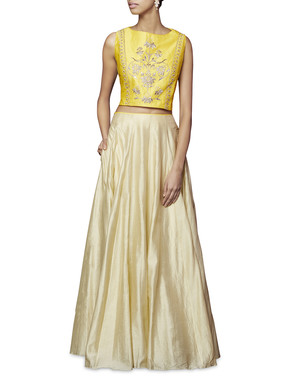 Anita Dongre Anika Crop Top And Skirt