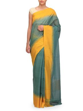Ekaya Handwoven Cotton Sari