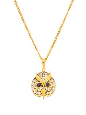 Loupe Owl Pendant