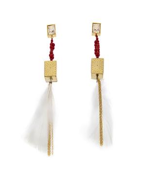 Loupe Boho Earrings