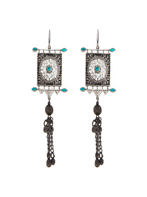 Loupe Boheme Ornate Earrings