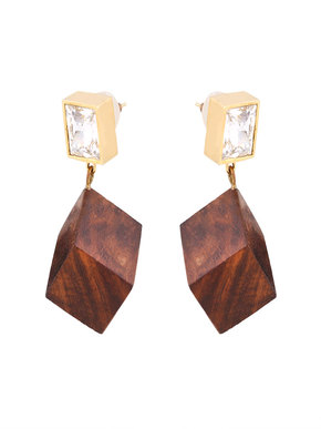 Loupe Woody Allure Earrings
