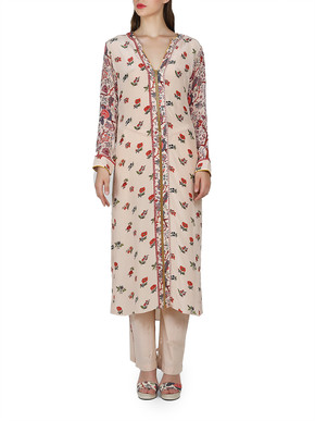 Nikasha Kurta and Trousers Set