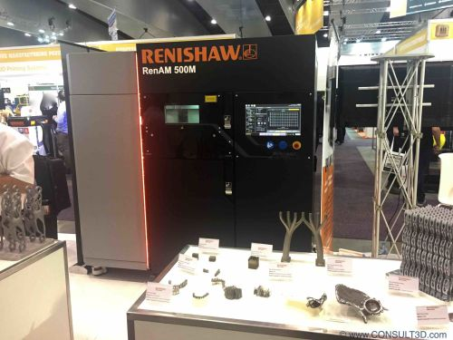 RENISHAW RenAM500SLM system