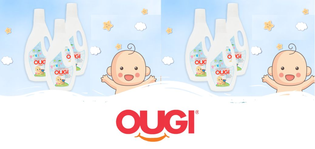 Ougi Detergent, Bayi Sehat Dengan Senyum Ceria