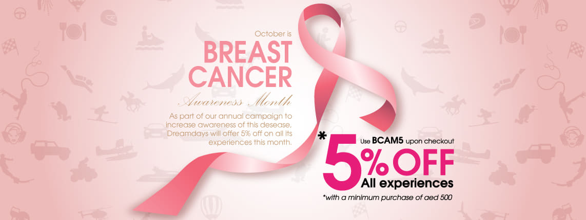 Breast Cancer Month Offer