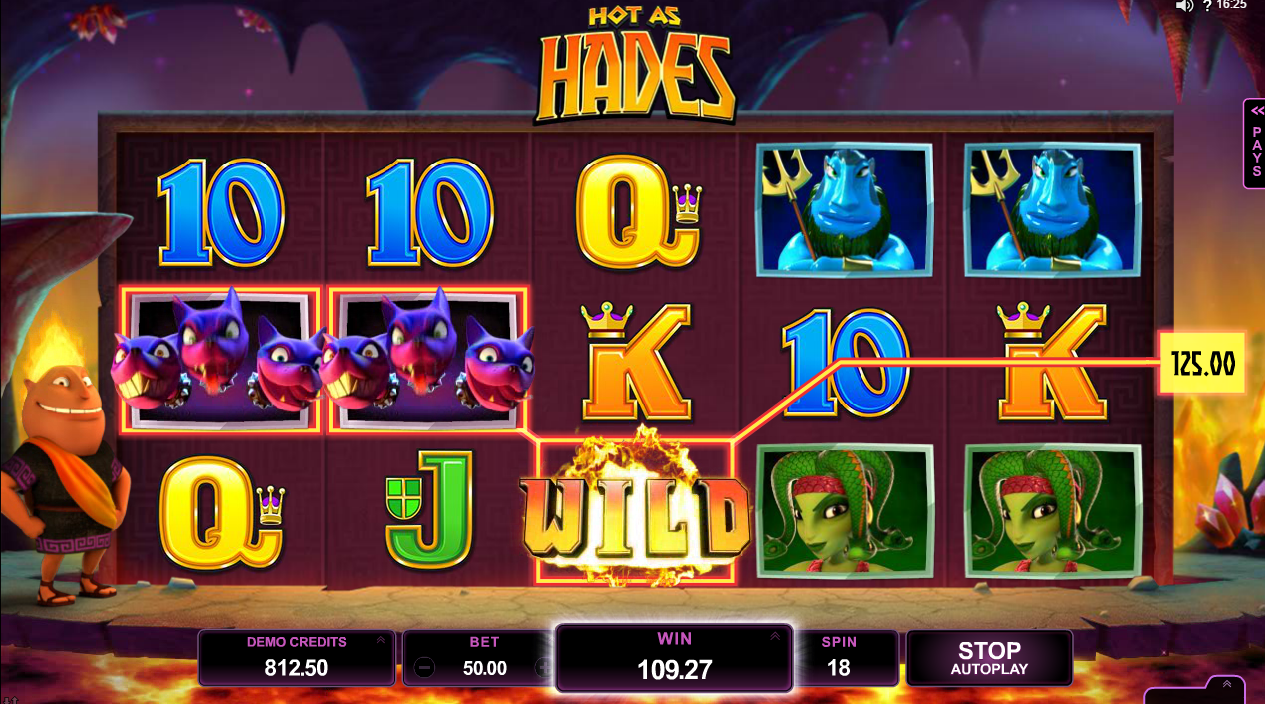 Image of popular Microgaming game Hot as Hades