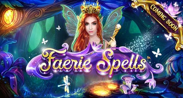 Online Casino Slot Faerie Spells by Betsoft
