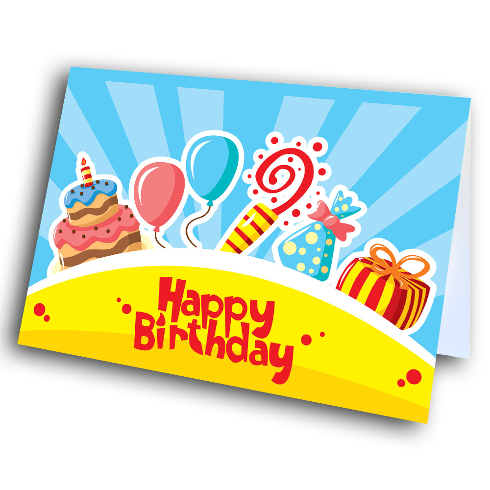 Candy Birthday-Greetway Greeting Cards