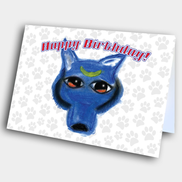 Picture of Wolf Birthday