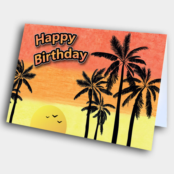 Picture of Tropical Birthday