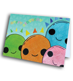 Picture of Color Smile Balloons Birthday