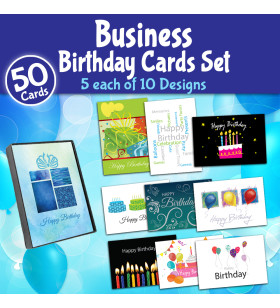 Picture of Business Birthday Set