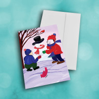 Picture of Holiday Snow Man