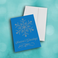 Picture of Bright BLUE Snowflake