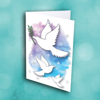 Picture of Beautiful Peace Doves