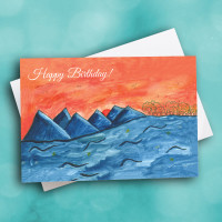 Picture of Blue Mountain Birthday