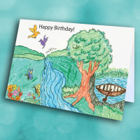 Picture of River lake Birthday