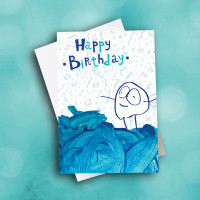 Picture of Mykah's Doodle Birthday Card