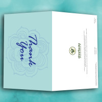 Picture of Flower Thank You Card