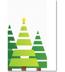 Picture of Modern Christmas Trees