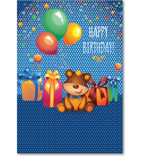 Picture of Bear Birthday