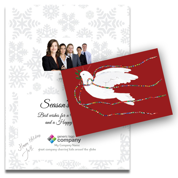 Sample Personalized Business Greeting Cards