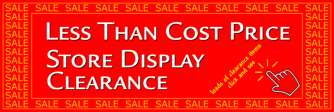 Click Here To See Clearance Pieces