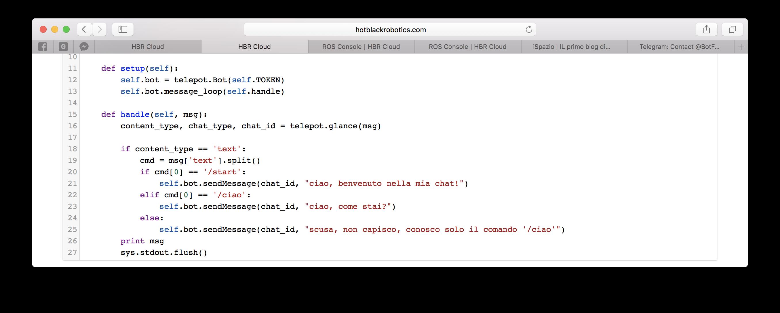 codice bot implementato